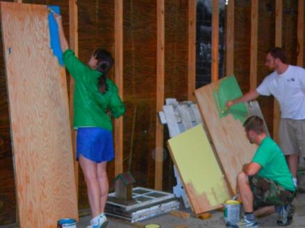 Our diligent volunteers!