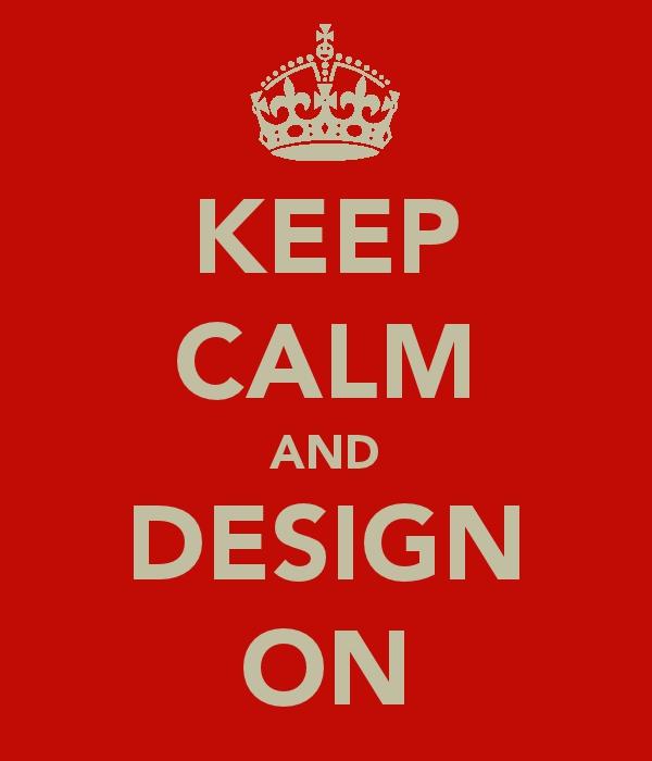 Keep Calm an... Technical Poster Template