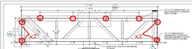 holes for truss